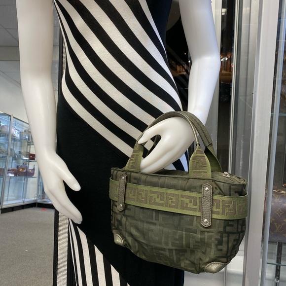 Fendi Handbags - Fendi Zucca monogram ed canvas small tote